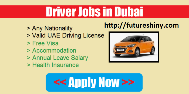 Driver Jobs in Dubai UAE