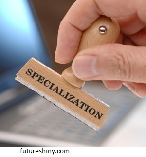 Why is it important to conduct a specialization?